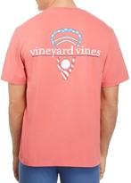 Vineyard Vines Stars and Stripes Lax Head Tee