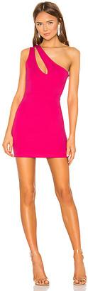 superdown Nava Asymmetrical Mini Dress
