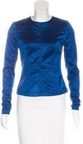 Yigal Azrouel Textured Long Sleeve Top