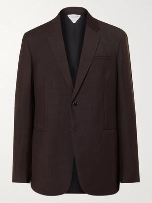 Bottega Veneta Mohair And Wool-Blend Suit Jacket