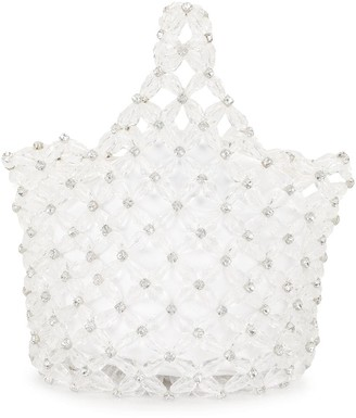 Simone Rocha Beaded Tote Bag