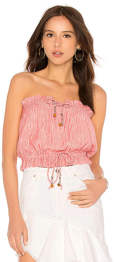 Free People Peppermint Tube Top