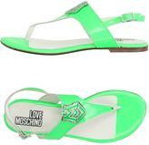 Love Moschino Toe strap sandals