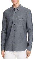 Jean Shop Kevin Dark Chambray Regular Fit Button-Down Shirt