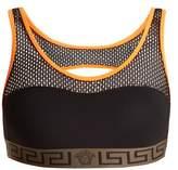 Versace Racer-back performance bra