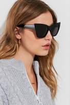Urban Outfitters Cash Oversized Cat-Eye Sunglasses