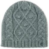 Petit Bateau Kids cable knit cap