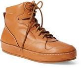 Ralph Lauren Siana Calfskin Sneaker