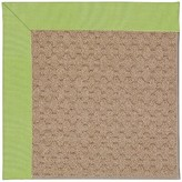 Zeppelin Machine Tufted Parakeet/Brown Indoor/Outdoor Area Rug Longshore Tides Rug Size: Rectangle 2' x 3'
