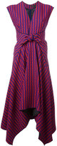 Proenza Schouler trapeze hem midi dress - women - Silk/Viscose - 4