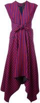 Proenza Schouler trapeze hem midi dress - women - Silk/Viscose - 8