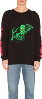 Off-White Skull Knit Rock Sweater