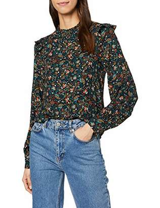 Warehouse Women's Fearne Ditsy Floral Top Blouse,6