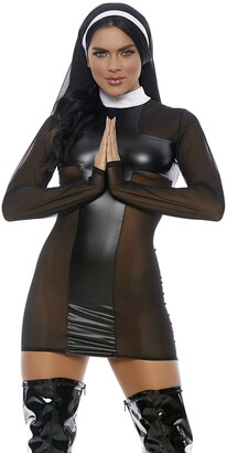 Forplay Women's Pray for Me Dress and Headpiece