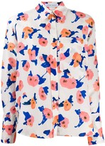 Christian Wijnants magnolia-print shirt