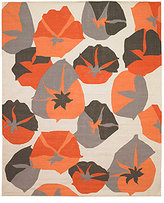 DwellStudio Big Floral 8x10 Rug in Persimmon