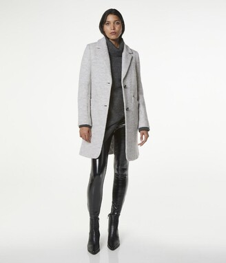 Andrew Marc Paige Notch Collar Wool Jacket