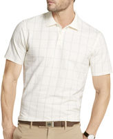 Van Heusen Short-Sleeve Windowpane Polo Shirt