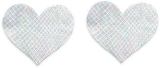 Bristols 6 Nippies Heart Nipple Covers