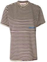 Eckhaus Latta thin striped T-shirt