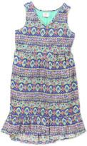 O'Neill O&Neill Adeline Floral Print High/Low Dress (Big Girls)