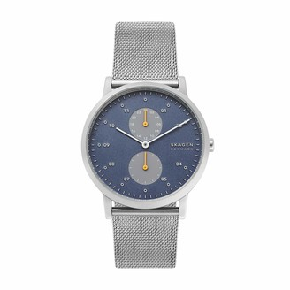 Skagen Mens Analogue Quartz Watch with Stainless Steel Strap SKW6525