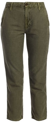 TRAVE Dakota High Rise Ankle Cargo Jeans