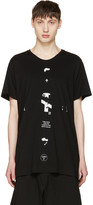 Julius Black downwards T-shirt