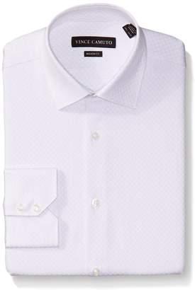 Vince Camuto Men's Stripe Modern Fit Dress Shirt