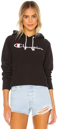 Champion Big Script Hooded Sweatshirt