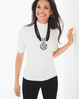 Chico's Marielle Mock Neck Top