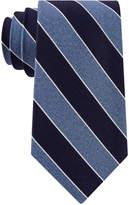 Club Room Men's Heather Stripe Silk Tie, Created for Macy's