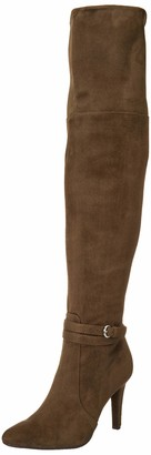Rialto Women's Clea Army/Suedette Size 11 Over-The-Knee Boot Numeric