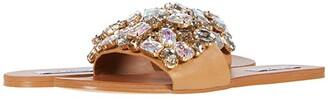 Steve Madden Brionna Flat Sandal (Rhinestone) Women's Shoes