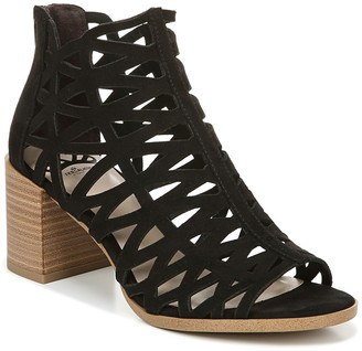 Fergalicious Witty Block Heel Caged Sandal