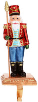 "Mark Roberts Blue 11"" Nutcracker Stocking Holder"