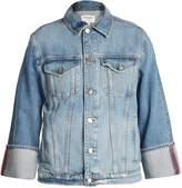 Frame Reverse-cuff denim jacket
