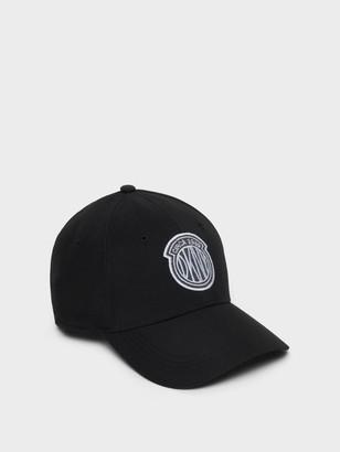 DKNY Women's Token Logo Hat - Black - Size N/S
