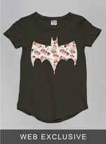 Junk Food Clothing Toddler Girls Batman Tee-bkwa-2t