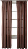 Liz Claiborne Ainsley Rod-Pocket Curtain Panel