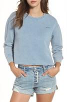RVCA Women's Crop Sweatshirt