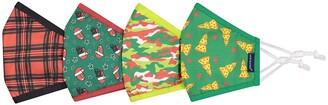 Andy & Evan Assorted 4-Pack Youth Face Masks