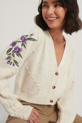 NA-KD Embroidery Cardigan