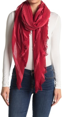 Melrose and Market Stripe Textured Scarf