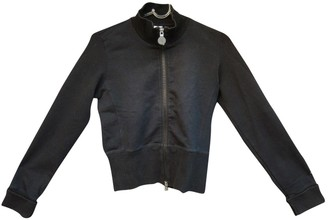 Dirk Bikkembergs Black Polyester Leather jackets