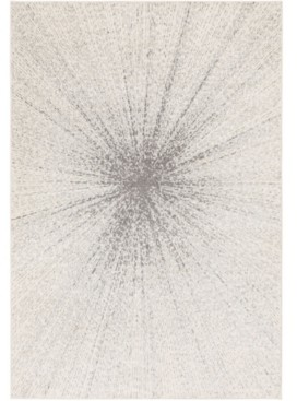 "Abbie & Allie Rugs Chester Che-2305 Silver 6'7"" x 9' Area Rug"