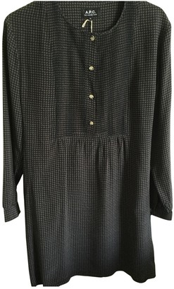 A.P.C. Black Silk Dresses