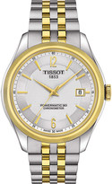 Tissot T1084082203700 Ballade stainless steel automatic watch