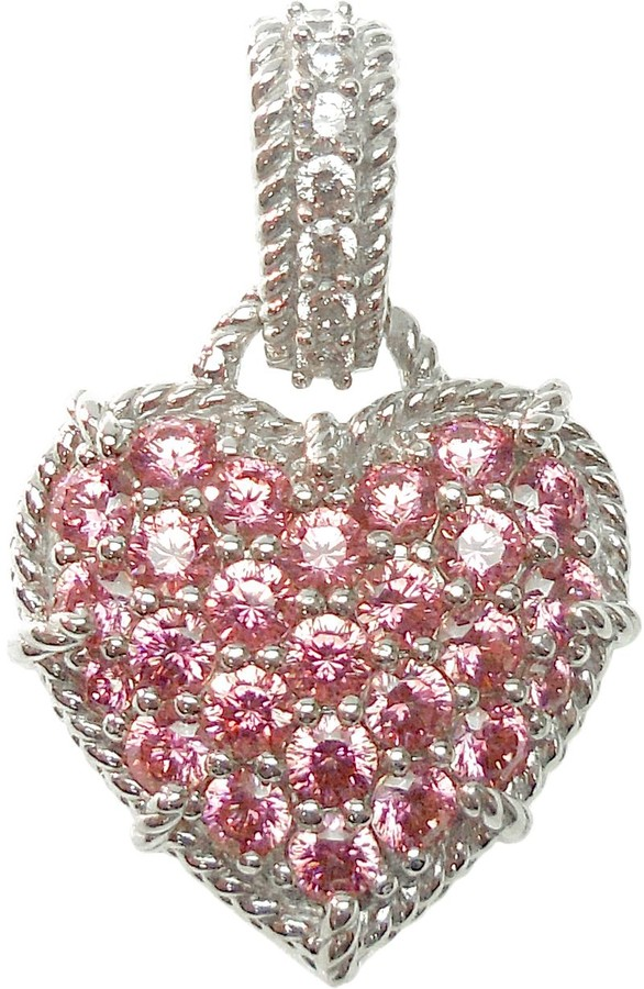 b065b99c93e2c Sterling Diamonique & Choice of Heart Enhancer