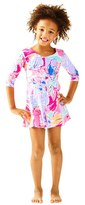 Lilly Pulitzer Amelia Floral Dress (Toddler Girls, Little Girls & Big Girls)